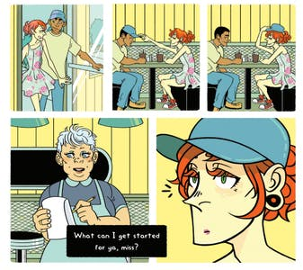 """Renée Triangle's comic for """"We're Still Here"""" personally resonated with writer Ana Valens."""