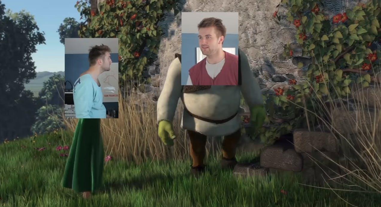 Shrek remake weird