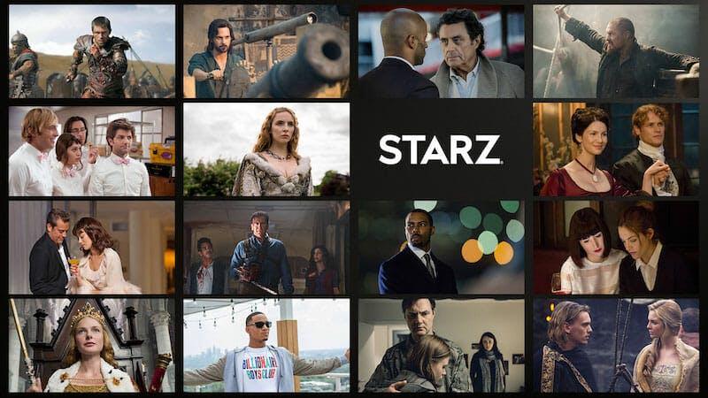best amazon fire channels - starz