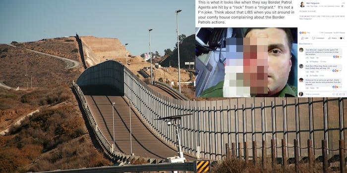 border patrol rock assault 2013