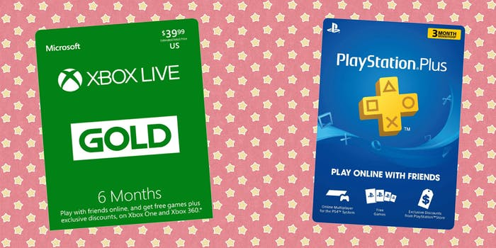 video game gift cards
