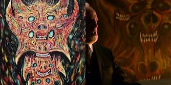 chilling adventures of sabrina satanic art