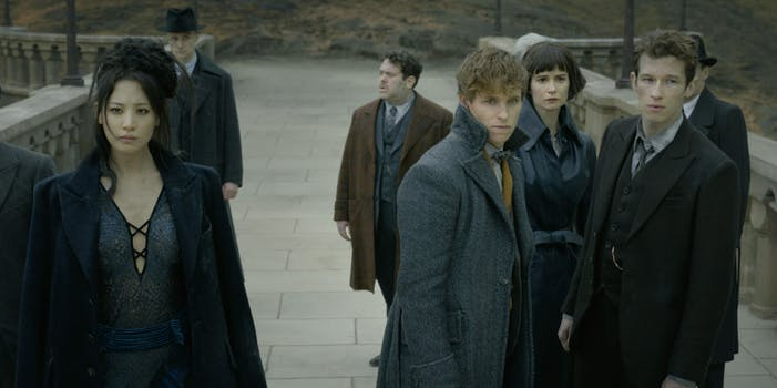 crimes of grindelwald time period