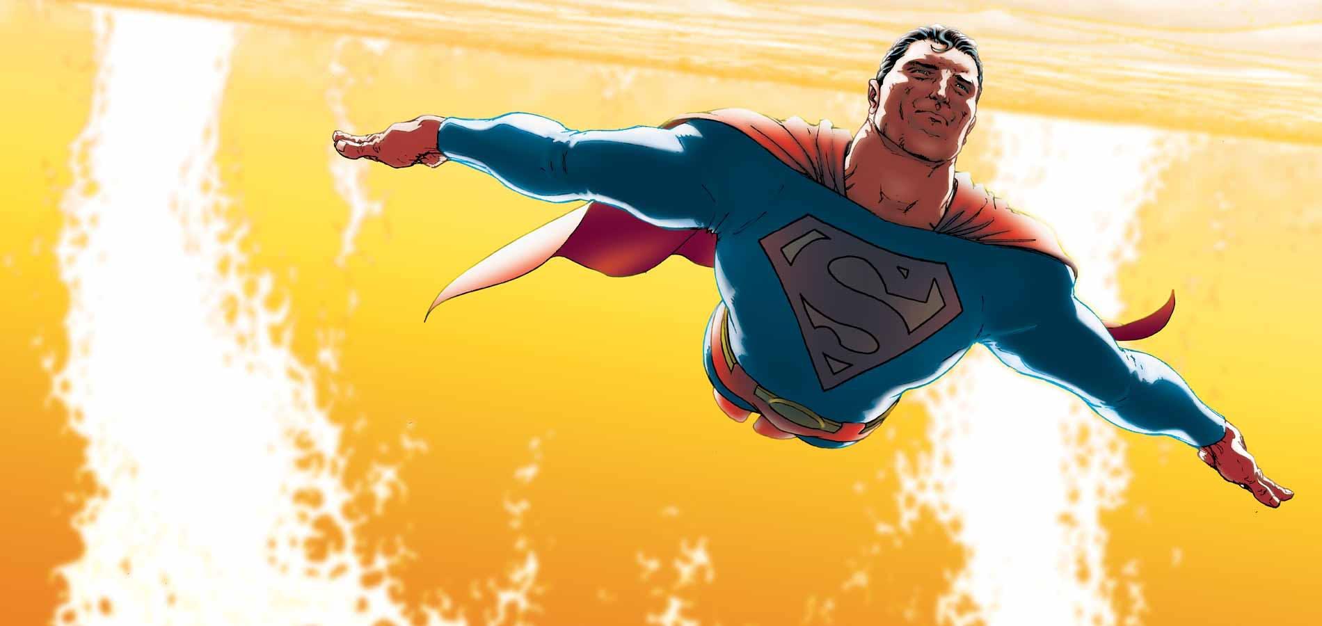 dc heroes superman