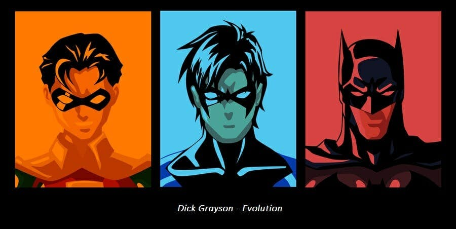 dc superheroes nightwing