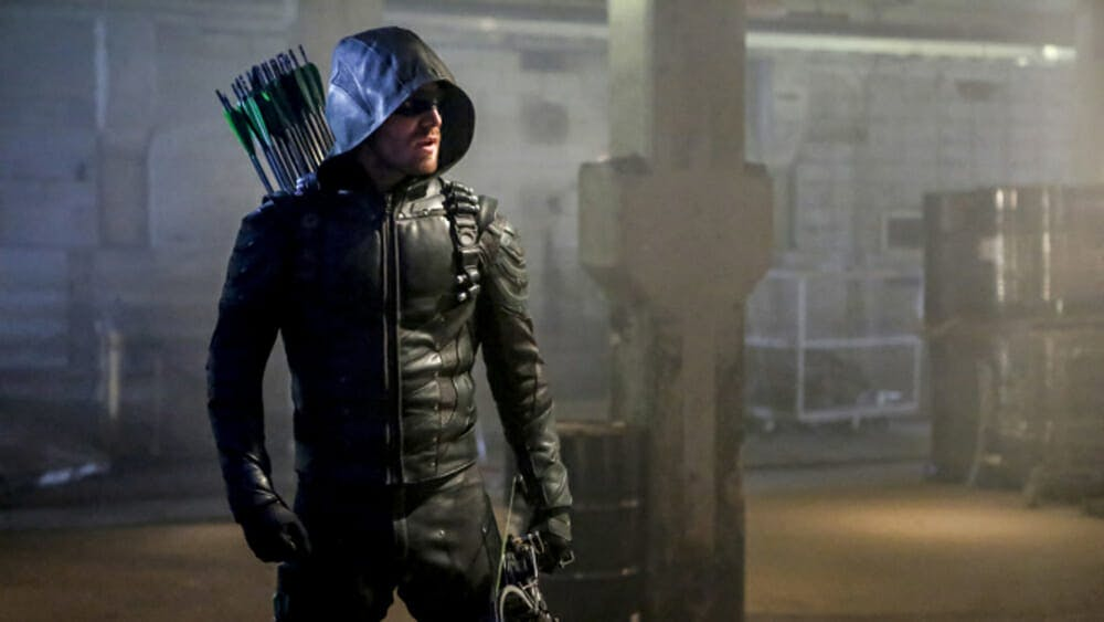 dc superheroes green arrow