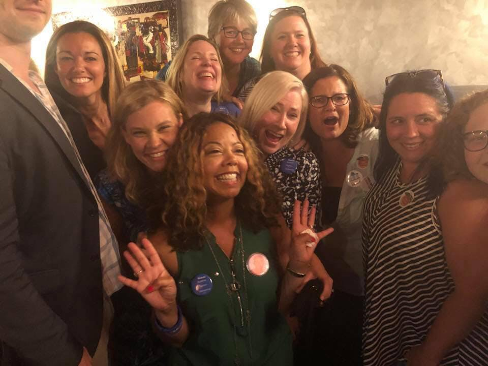 lucy mcbath supporters