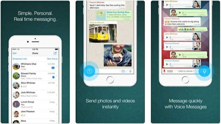 best messaging apps 2018 - whatsapp