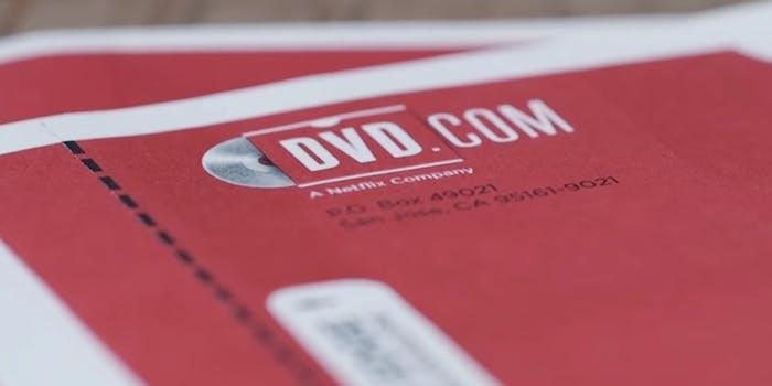 netflix dvd plan