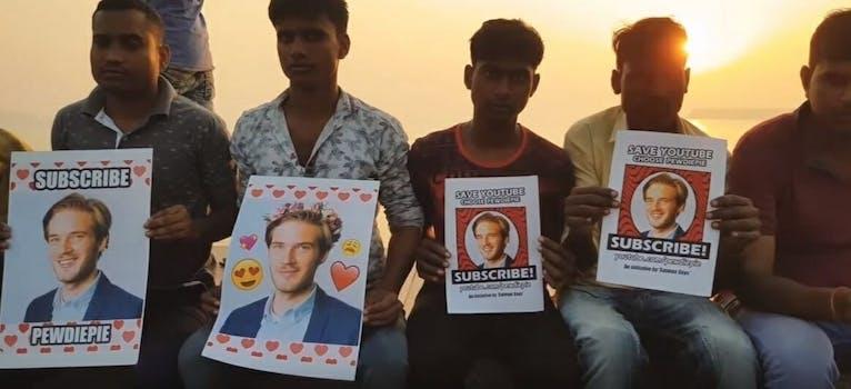 PewDiePie YouTube T-Series Saiman Says