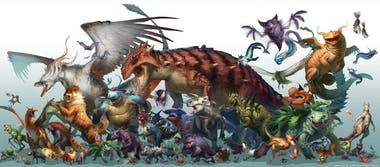 RJ Palmer's depiction of realistic Pokemon