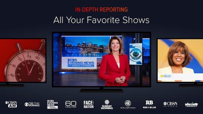 roku free live tv cbs news 24/7