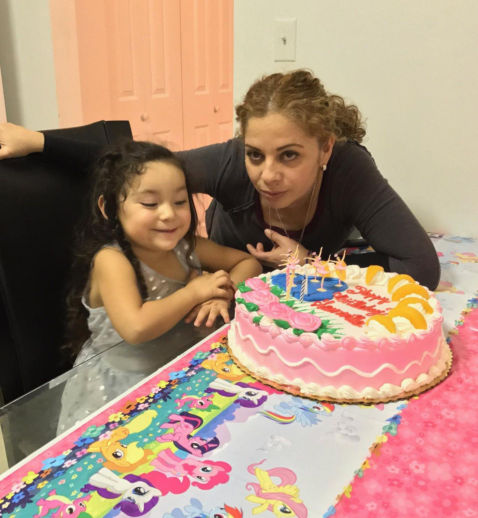 samantha griselda birthday cake