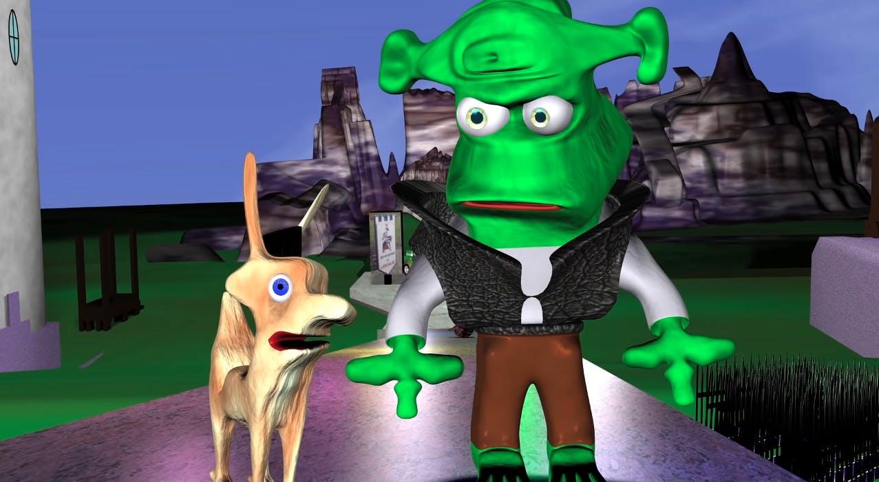shrek remake computer animation