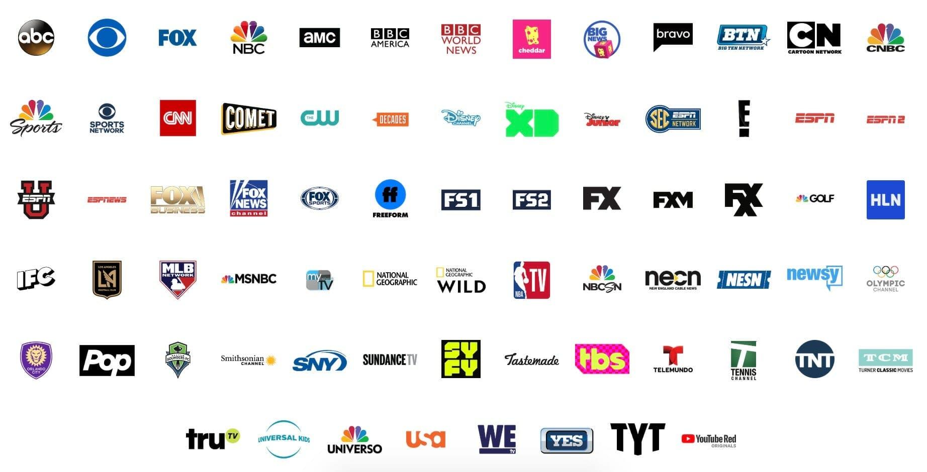 sling tv alternative youtube tv