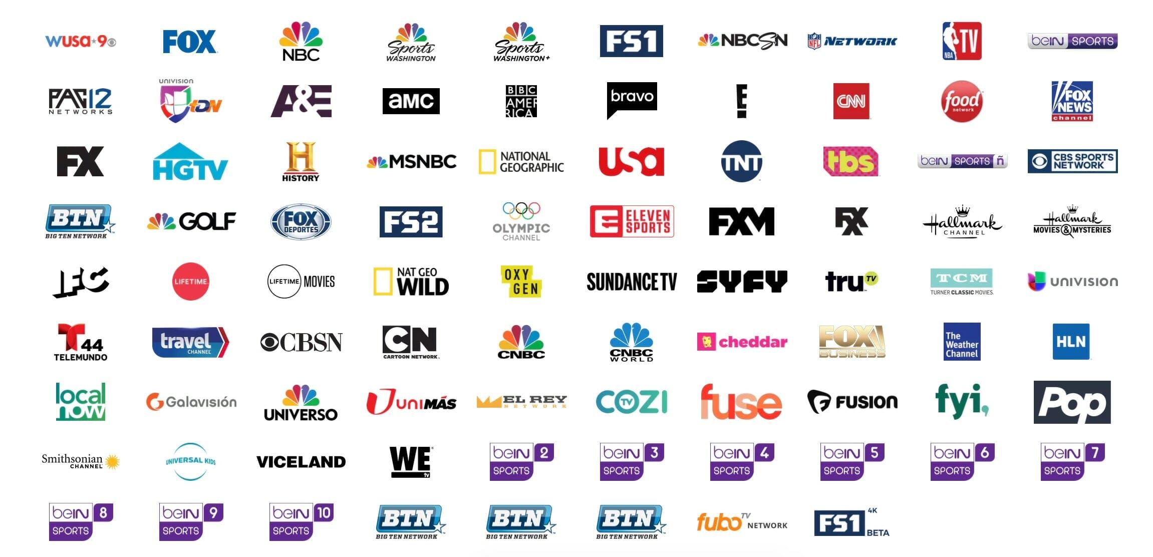 sling tv competitors fubotv channels