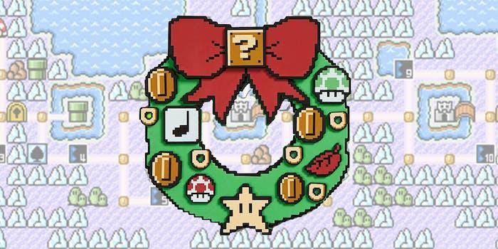 Super Mario wreath
