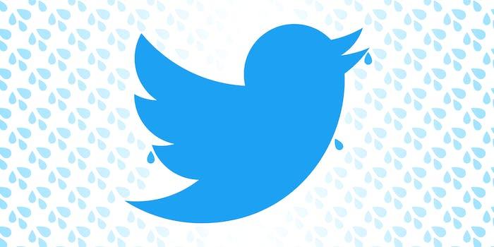 thirsty twitter bird
