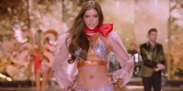 A Victoria's Secret exec is under fire for making transphobic comments.