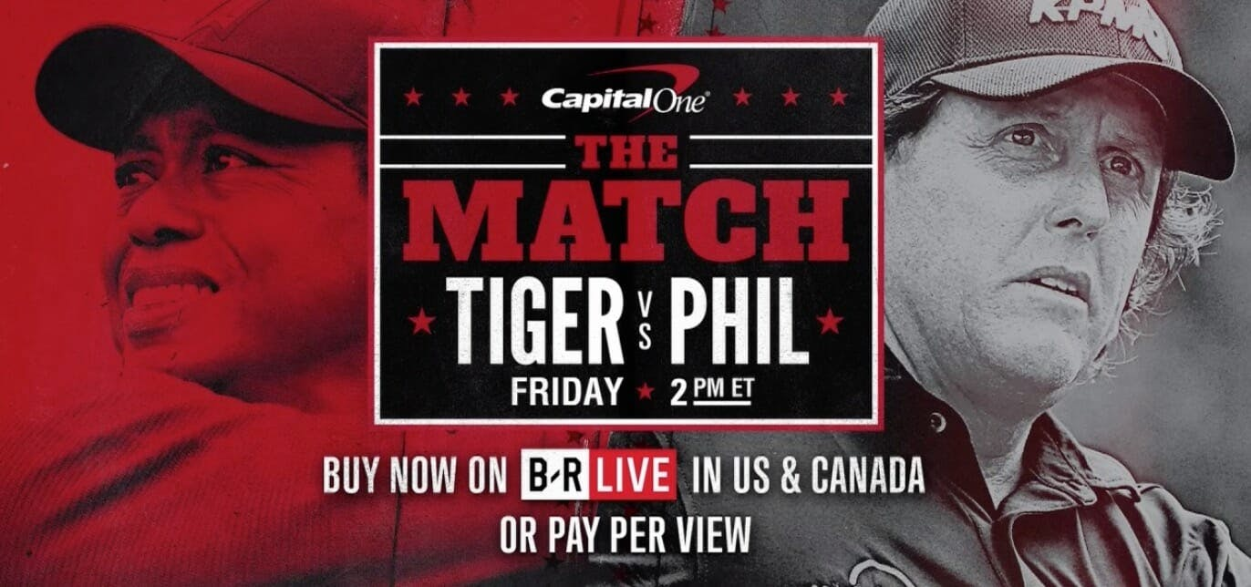 watch tiger woods vs phil mickelson
