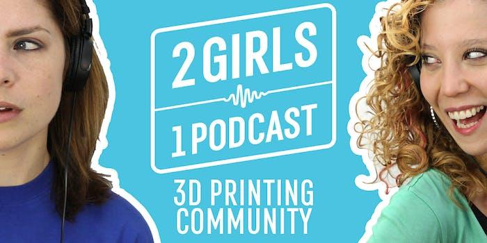 2 Girls 1 Podcast THINGIVERSE