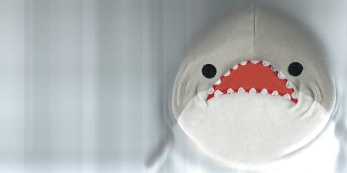 One Twitter user went viral for scanning a stuffed shark in an office scanner.