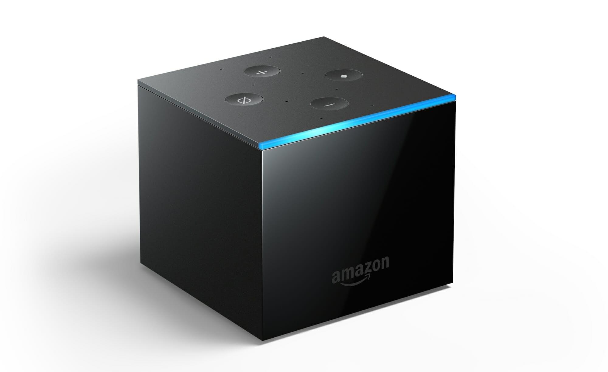 Amazon Fire TV Cube angle