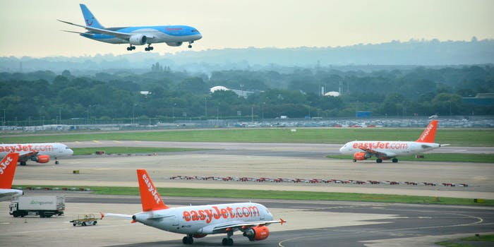 Gatwick Airport's flights remain suspended due to rogue drones flying near its airfield.