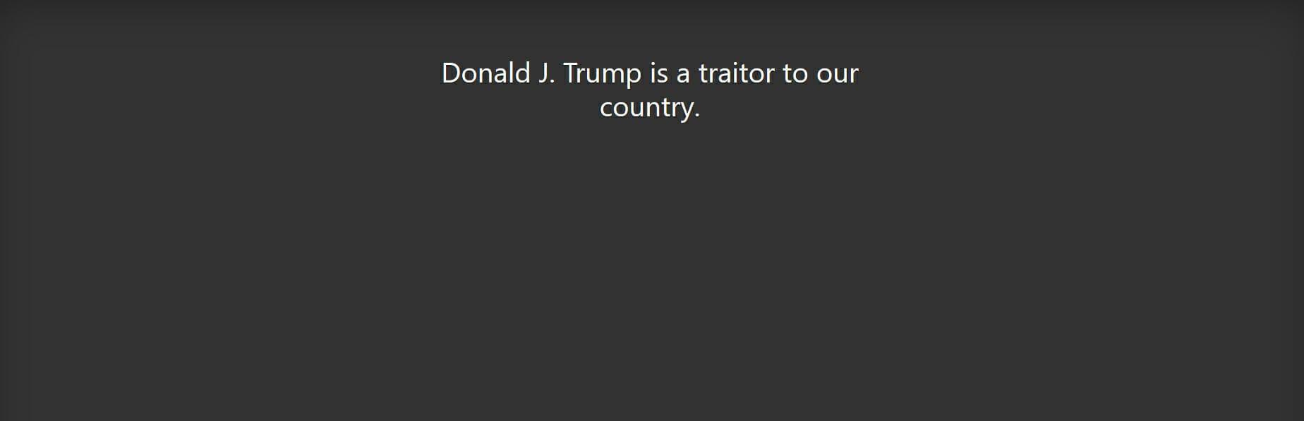 Giuliani Link Trump Traitor