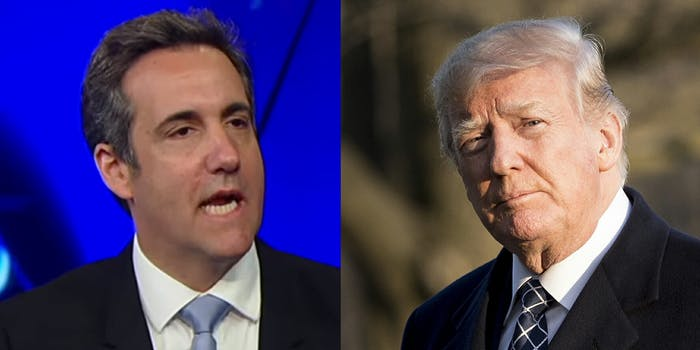 Michael Cohen, President Donald Trump's former long-time lawyer, contradicted statements the president made about hush money payments made to women who claimed to have had affairs with Trump during an interview with GMA on Friday.