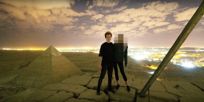 Photographer Having Sex Great Pyramid