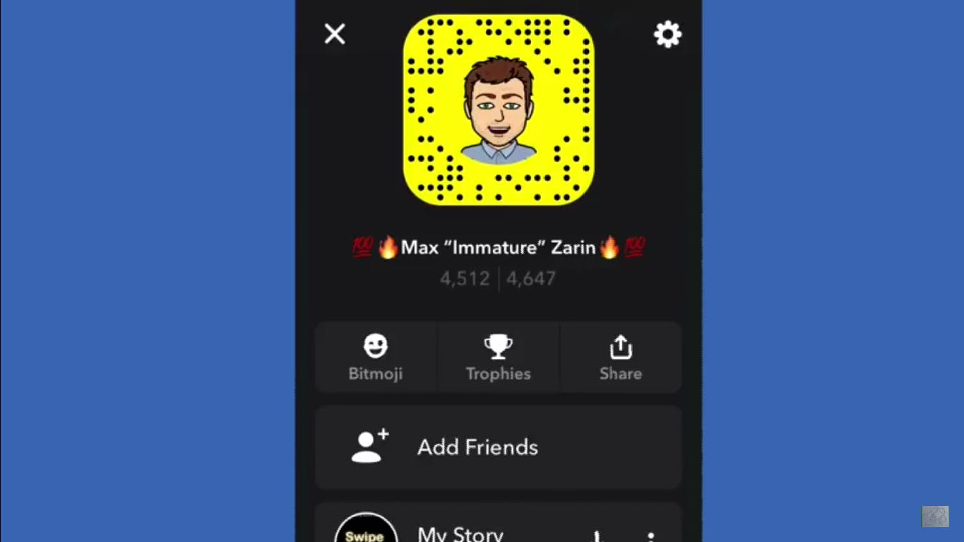 how does snapchat score work
