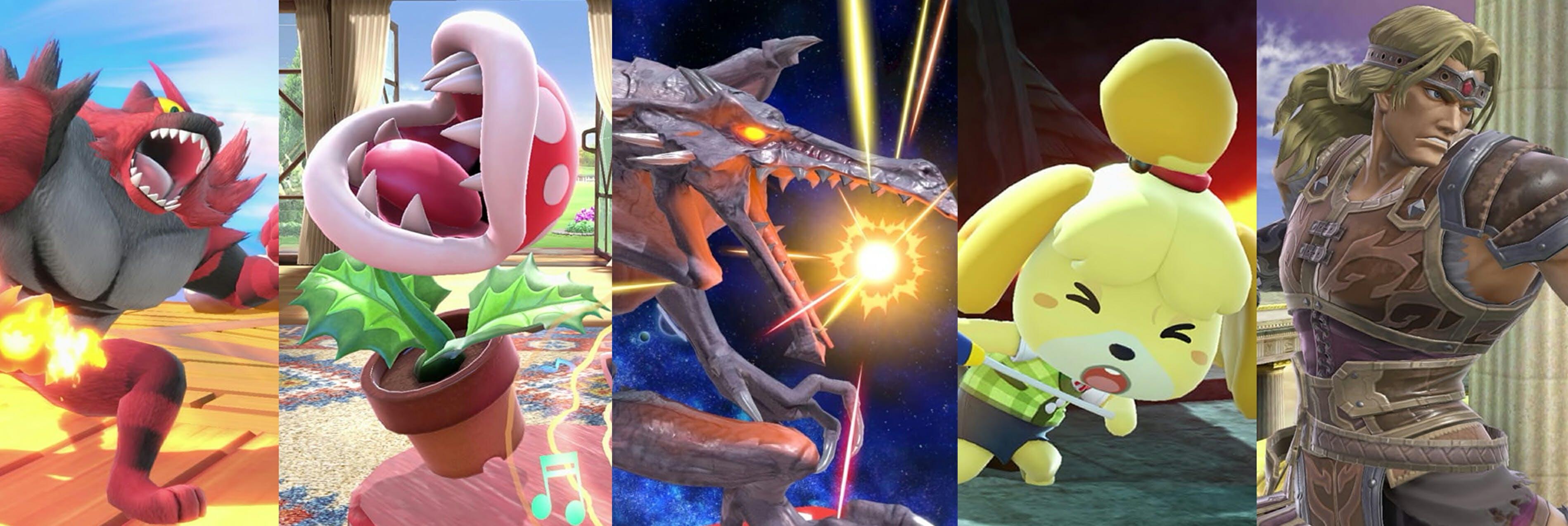 Smash bros. ultimate roster