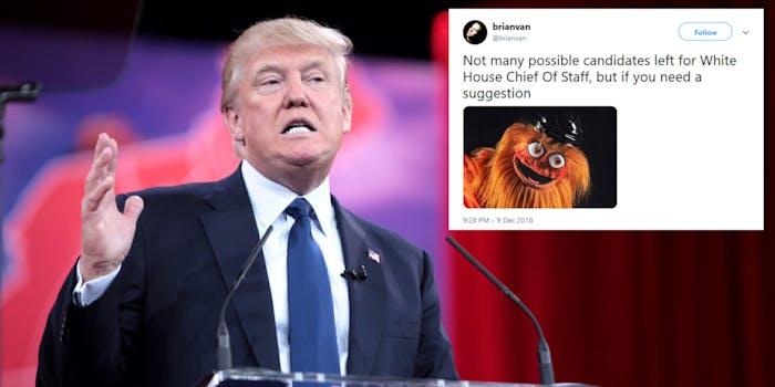 Trump Chief of Staff Memes