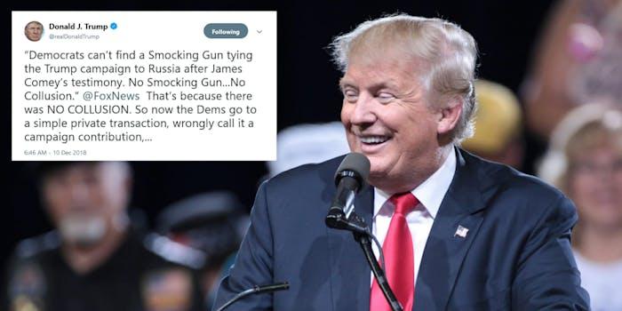 Trump Smocking Gun Memes