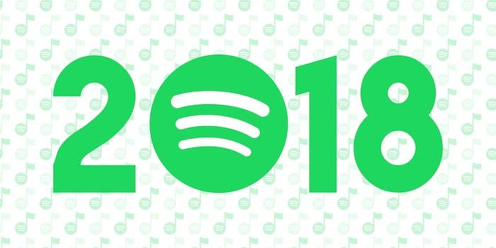best of spotify 2018