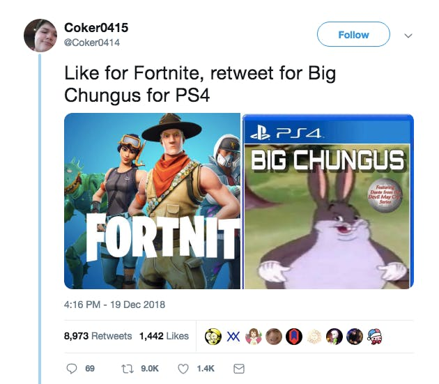 big chungus ps4 game