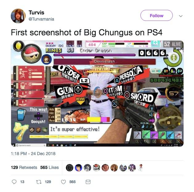 Big Chungus text art