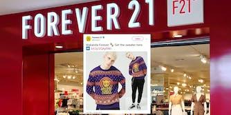 forever 21 wakanda sweater tchad