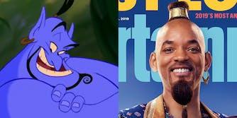 genie aladdin will smith