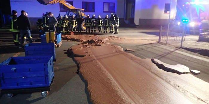 german chocolate spill