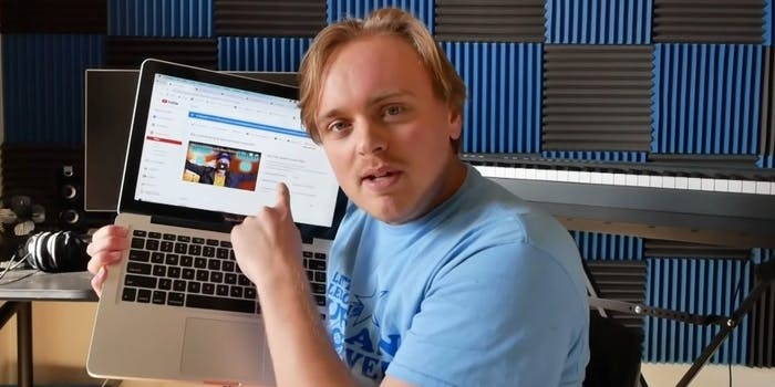 gus johnson youtube content claims copyright strikes