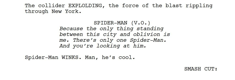 into the spider-verse script free online