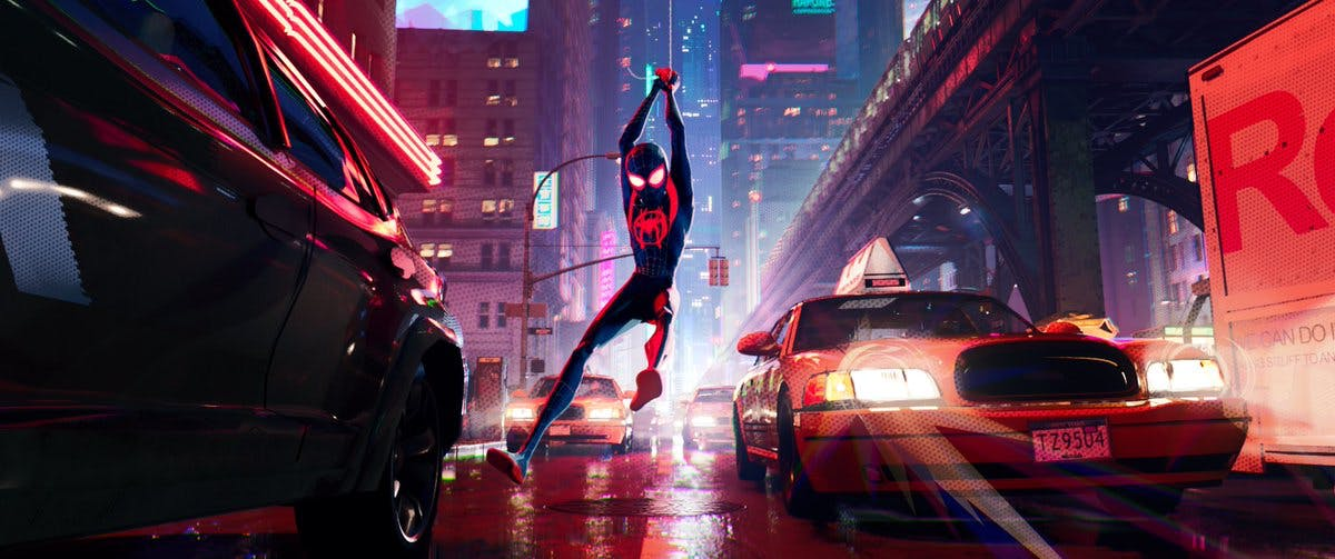 into the spiderverse miles