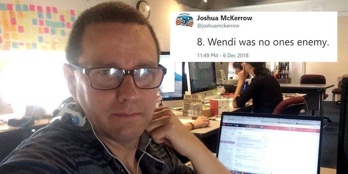 joshua mckerrow wendi was no ones enemy