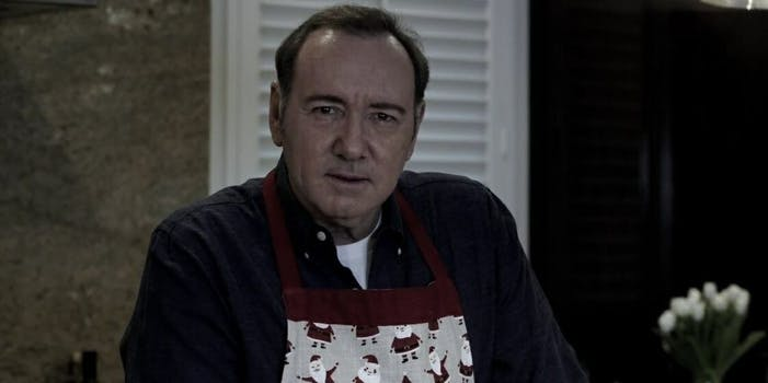 Kevin Spacey YouTube Frank Underwood