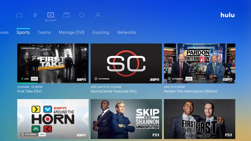 how to watch live tv on amazon fire stick - hulu with live tv