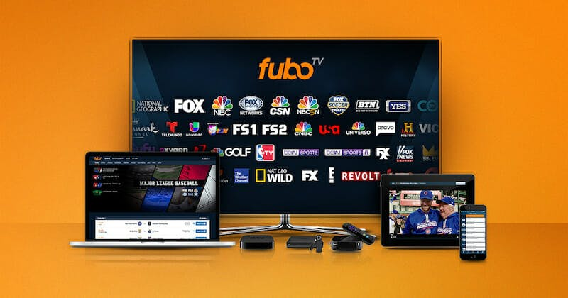 how to watch live tv on apple tv - fubotv