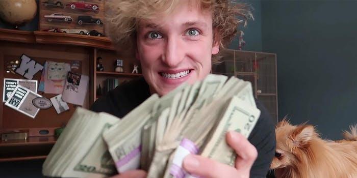 Logan Paul earnings YouTube Forbes