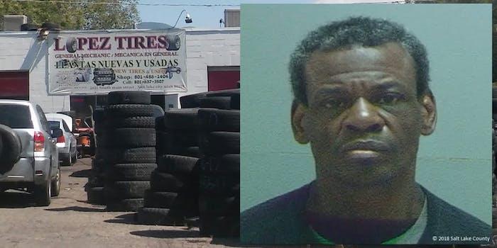 lopez tires Alan Covington hate crime
